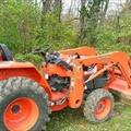 Tractors, Backhoes & Excavators