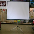 "Projection Screen - 70"" x 70"""