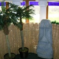Party Prop - Palm Fence