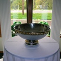 Punch Bowl -  5 Gal Gold Trim