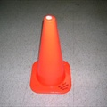 Cone, Orange Safety - 18""