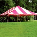 Canopy Tent - 30x45 (Red/White)