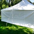 Canopy Tent Side - 20' Solid
