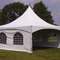 Canopy Tent Side - 20' Windowed