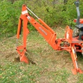 Tractor Attachment - Backhoe Accessory